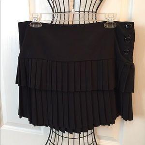 Heart & Soul mini skirt black pleated